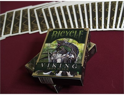 Bicycle Viking Iron Scale Deck - magic