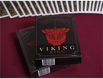 Bicycle Viking King Deck - magic
