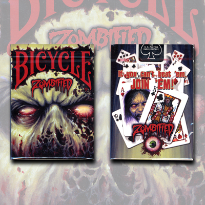 Bicycle Zombified Playing Cards - magic