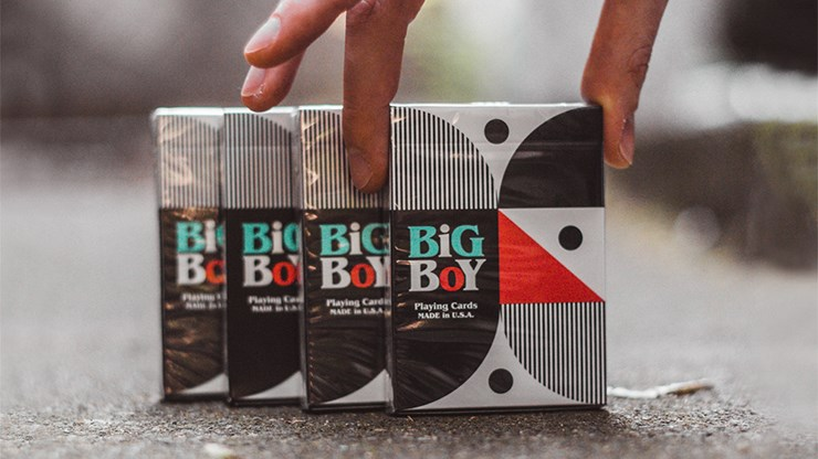 Big Boy No.2 Playing Cards - magic