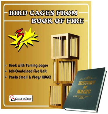 Bird Cages From Book of Fire  - magic