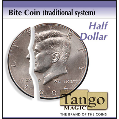 Bite Coin - Half Dollar - magic