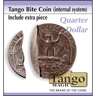 Bite Coin - Quarter Dollar - Premium - magic