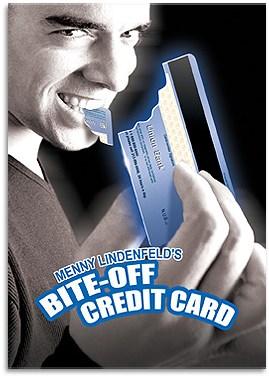 Bite Off Credit Card - magic