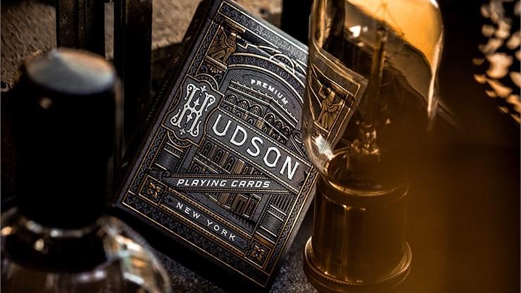 Black Hudson Playing Cards - magic