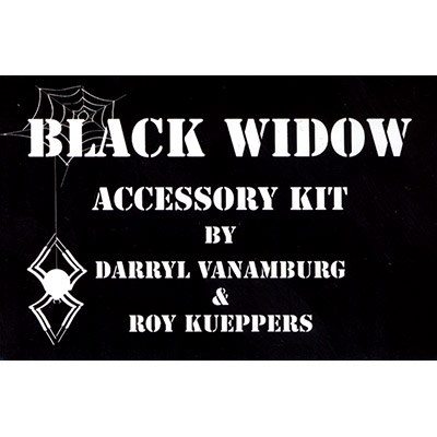 Black Widow Accessory Kit - magic