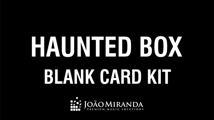 Blank Card Kit for Haunted Box - magic