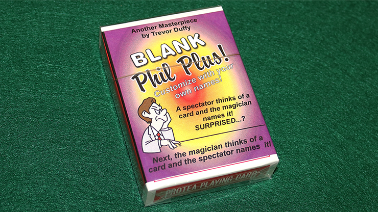 Blank Phil Plus 2 - magic