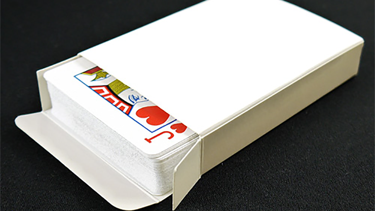 Blank Poker Sized Tuck Box - magic