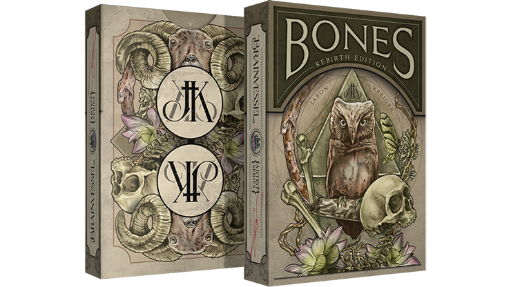 Bones Rebirth Playing Cards - magic