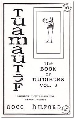 Book Of Numbers Volume Three - magic
