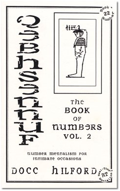 Book Of Numbers Volume Two - magic