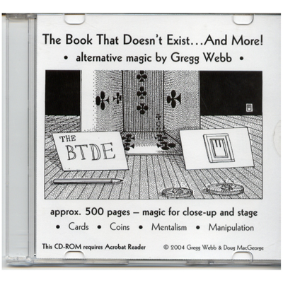 Book That Doesn't Exist - magic
