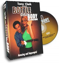 Bottle Thru Body Tony Clark - magic