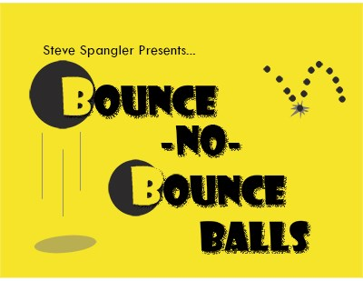 Bounce no Bounce Balls 3/4 inch - magic