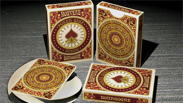 Bourgogne Playing Cards - United Cardists 2016 Annual Deck - magic