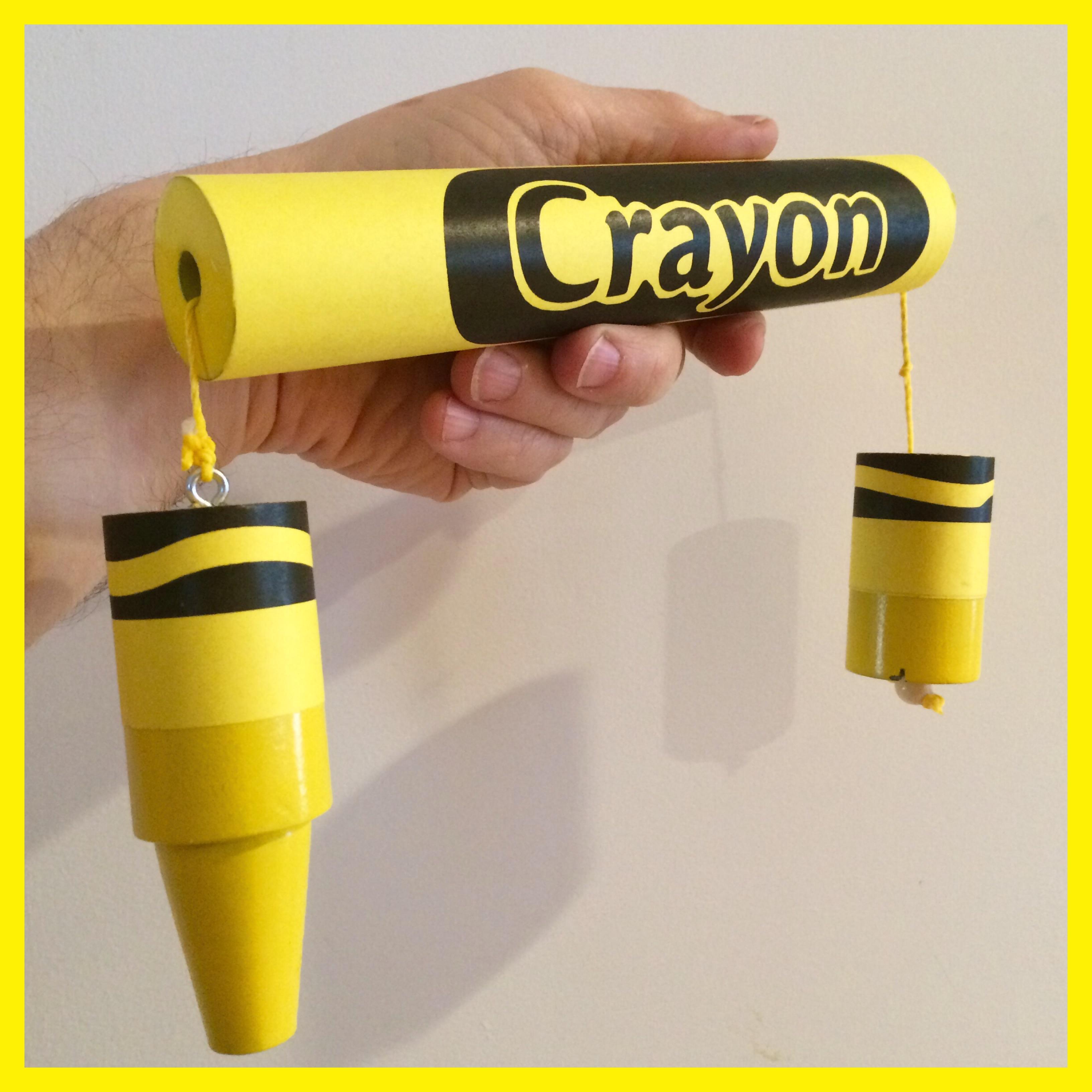 Breakaway Crayon - Yellow - magic