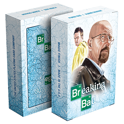 Breaking Bad Playing Card (Blue) - magic