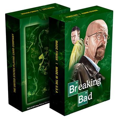 Breaking Bad Playing Card (Green) - magic