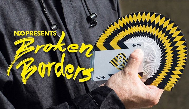 Broken Borders Playing Cards - magic