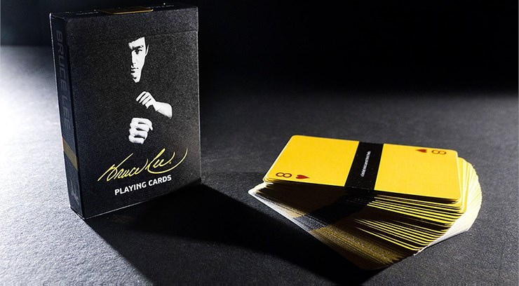 Bruce Lee Playing Cards - magic