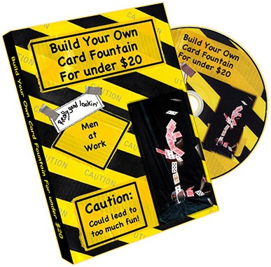 Build Your Own Card Fountain For Under $20 - magic