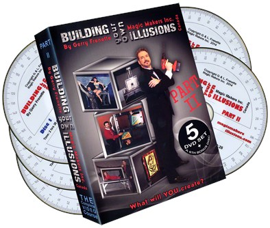 Building Your Own Illusions Part 2 The Complete Video Course - magic