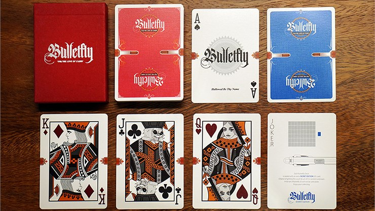 Bulletfly Playing Cards: Vino Edition - magic