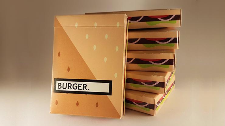 Burger Playing Cards - magic