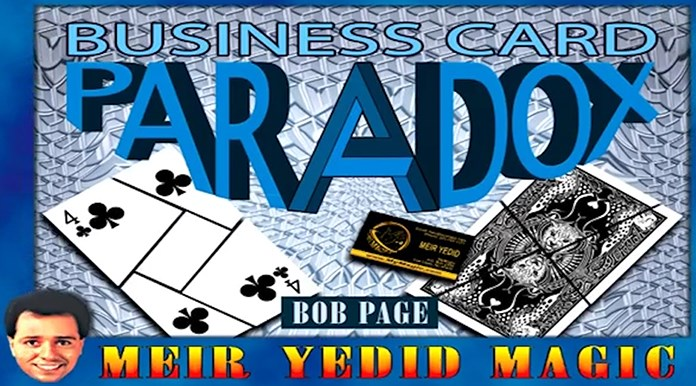 Business Card Paradox - magic