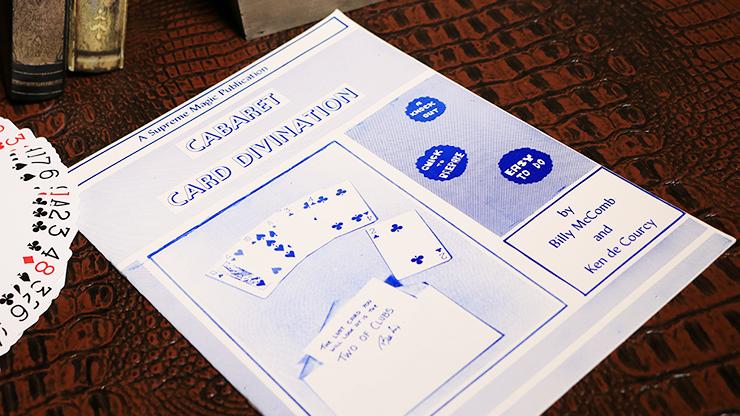 Cabaret Card Divination - magic