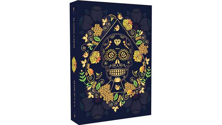 Calaveras de Azúcar Blue Edition Playing Cards Printed - magic