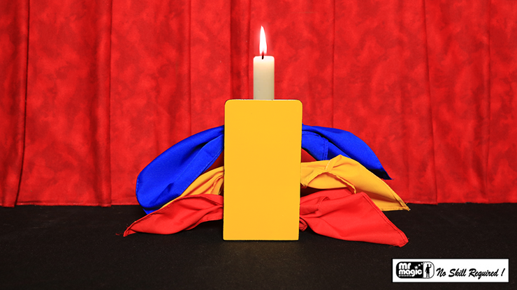 Candle Through Silks - magic