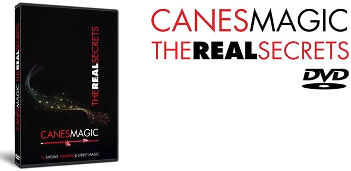 Canes MAGIC - The Real Secrets DVD - magic