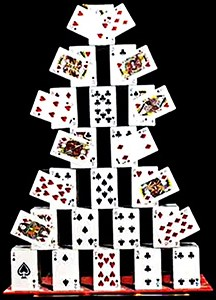 Card Castle 2.00 Feet - magic