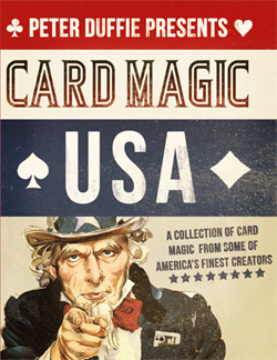Card Magic USA Book - magic