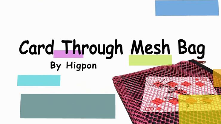 Card Through Mesh Bag - magic