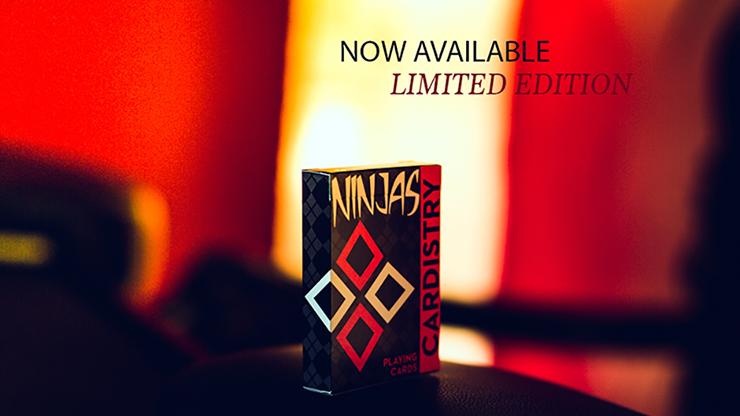 Cardistry Ninja Playing Cards - magic