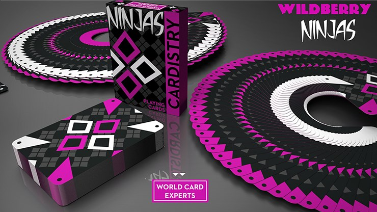 Cardistry Ninja Wildberry - magic