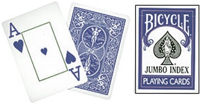 Bicycle Jumbo Index Playing Cards - magic