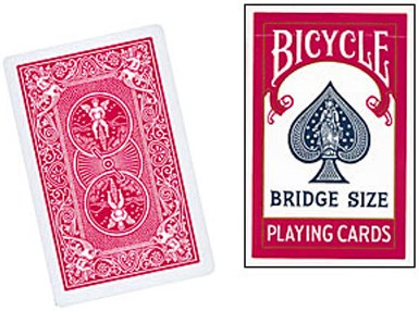Bicycle Bridge Sized Playing Cards - magic