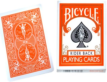 Orange Bicycle Deck - magic