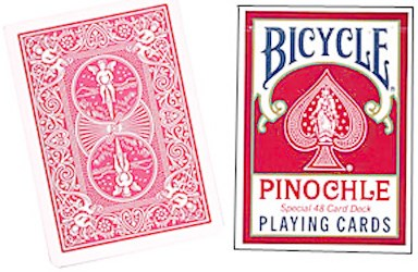 Bicycle Pinochle Poker-size Playing Cards - magic