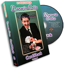 CardShark Ortiz Volume 3, DVD - magic