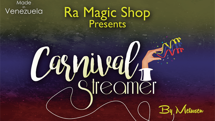 Carnival Streamer Halloween - magic
