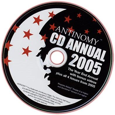CD Antinomy Annual Year 1 - magic