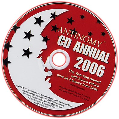CD Antinomy Annual Year 2 - magic