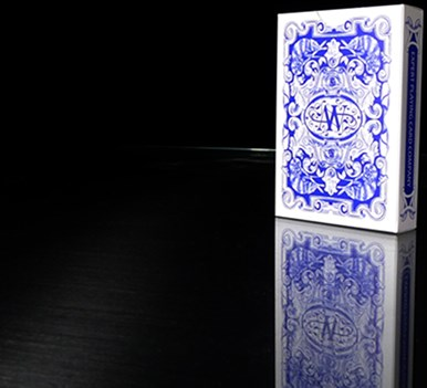 Chameleon Playing Cards (Blue) - magic