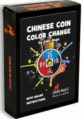 Chinese Coin Color Change - magic