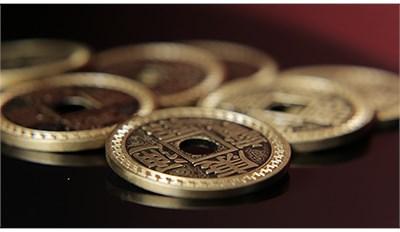 Chinese Coin Set Half - magic
